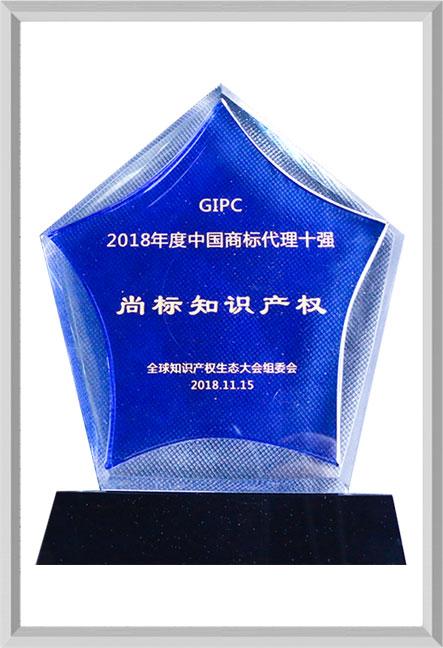 2018年度中国商标代理十强